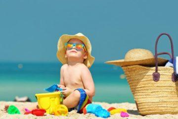 Как отдохнуть на море с детьми?
